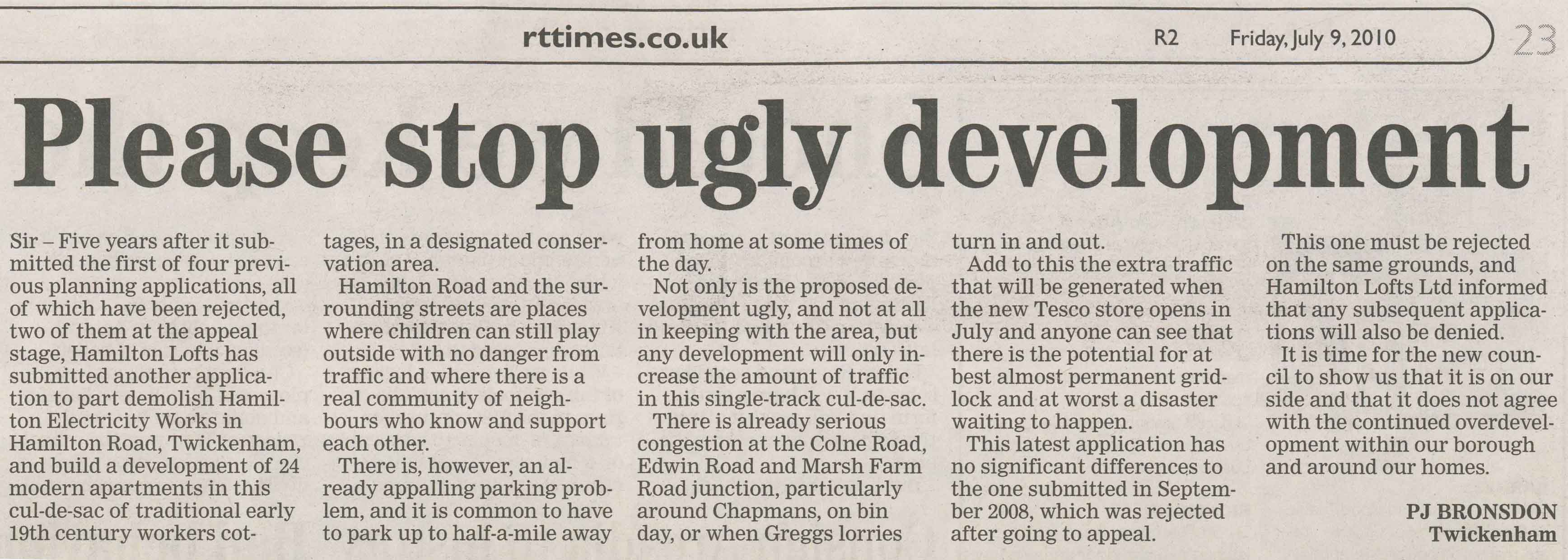 Please stop ugly development